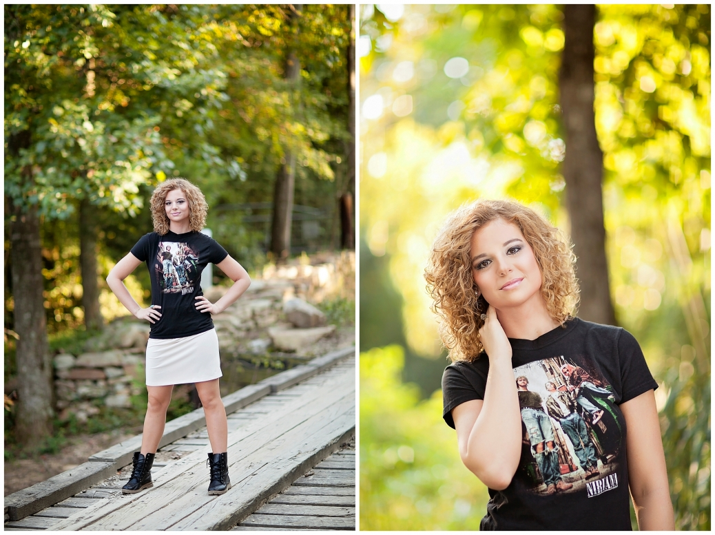 DeKalb County senior photography