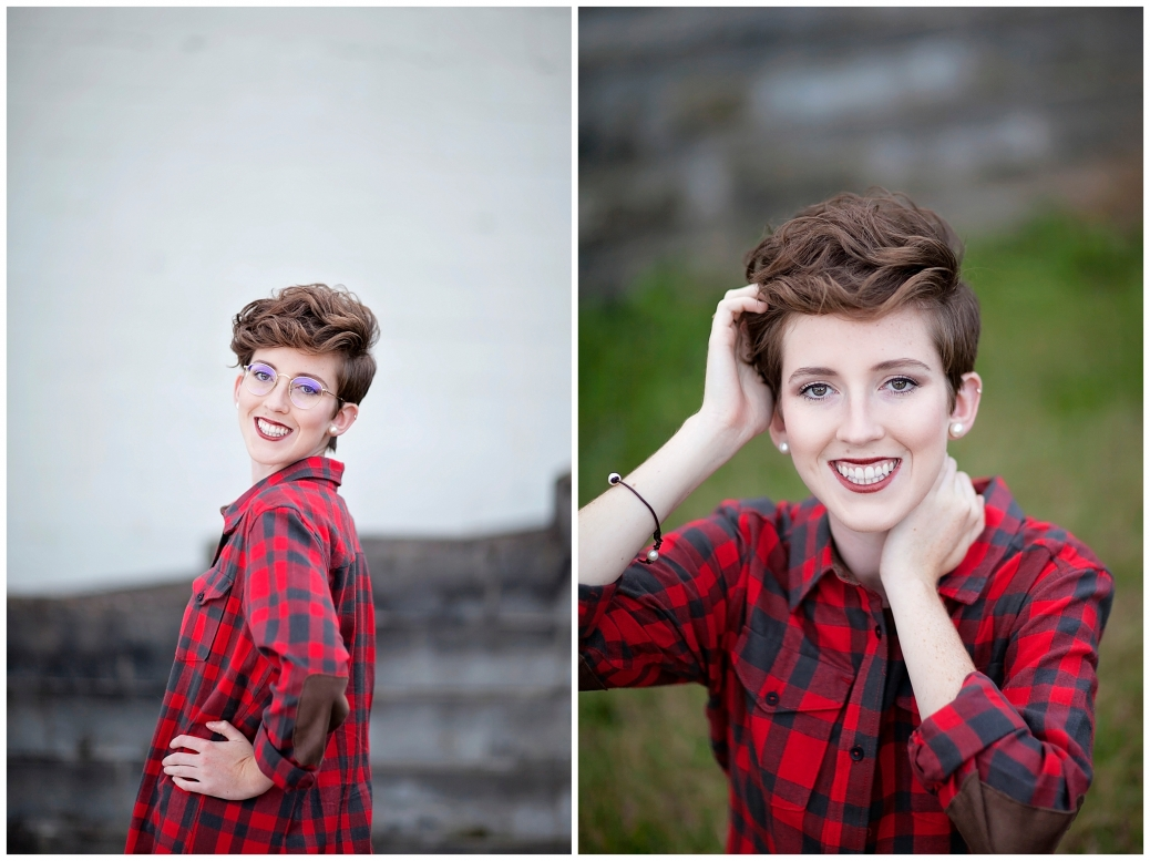 Quirky senior photography