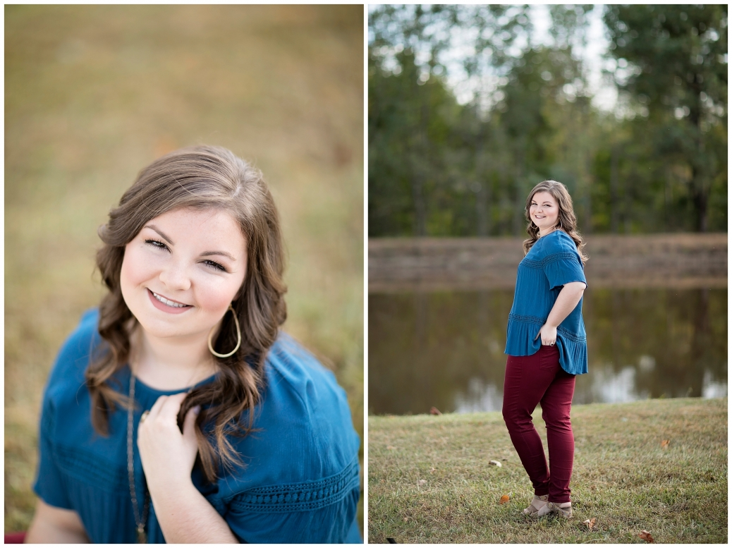 colorful senior photography